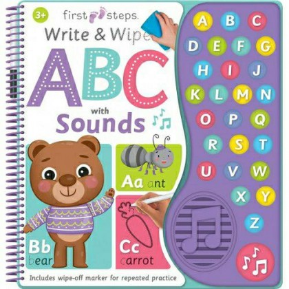 Write & Wipe ABC With Sounds