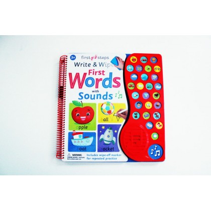 Write & Wipe First Words With Sounds